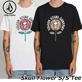 volcom ボルコム tシャツ メンズ Skull Flower S/S Tee 半袖 A5021901 【返品種別OUTLET】