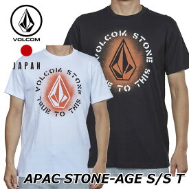 volcom ボルコム tシャツ メンズ APAC STONE-AGE S/S TEE 半袖 JapanLimited AF3219G1【返品種別OUTLET】
