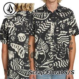 volcom ボルコム シャツ Scrap Floral S/S メンズ 半袖 シャツ A0421901