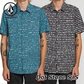 volcom ボルコム シャツ Dot Stone S/S メンズ 半袖 シャツ A0421904 【返品種別OUTLET】