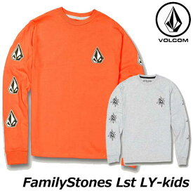 volcom ボルコム キッズ ロンT Familystones Lst LY 3-7歳 Y3631907 【返品種別OUTLET】