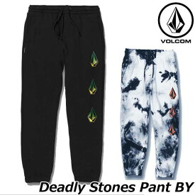 volcom ボルコム キッズ スウェットパンツ Deadly Stones Pant BY 8-14歳 C1231904 【返品種別OUTLET】