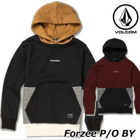 volcom ボルコム キッズ パーカー Forzee P/O BY 8-14歳 C4131905 【返品種別OUTLET】