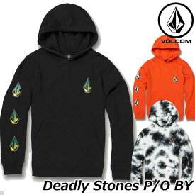 volcom ボルコム キッズ パーカー Deadly Stones P/O BY 8-14歳 C4131907 【返品種別OUTLET】