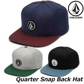 ステッカープレゼント ボルコム キャップ メンズ VOLCOM CAP Quarter Snap Back Hat 帽子 D5511561 ship1
