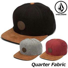 ステッカープレゼント ボルコム キャップ メンズ VOLCOM CAP Quarter Fabric Hat Storm 帽子 D5531413 ship1