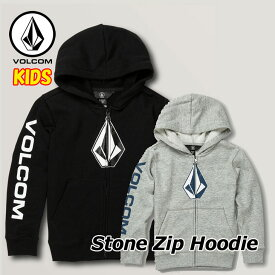 volcom ボルコム キッズ パーカー LittleYouth Stone Zip Hoodie 3-7歳 Y4831903 【返品種別OUTLET】
