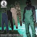 ボルコム 19-20 ウエア VOLCOM ROAN BIB OVERALL ローンビブオーバーオール G1351909 予約販売品 ship1