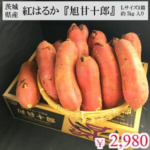 茨城県産 紅はるか 旭甘十郎 M〜Lサイズ 約5kg入 1箱
