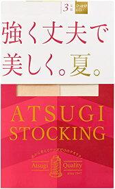 アツギ パンスト ATSUGI STOCKING (アツギストッキング) 強く丈夫で美しく。夏。 3足組 レディース