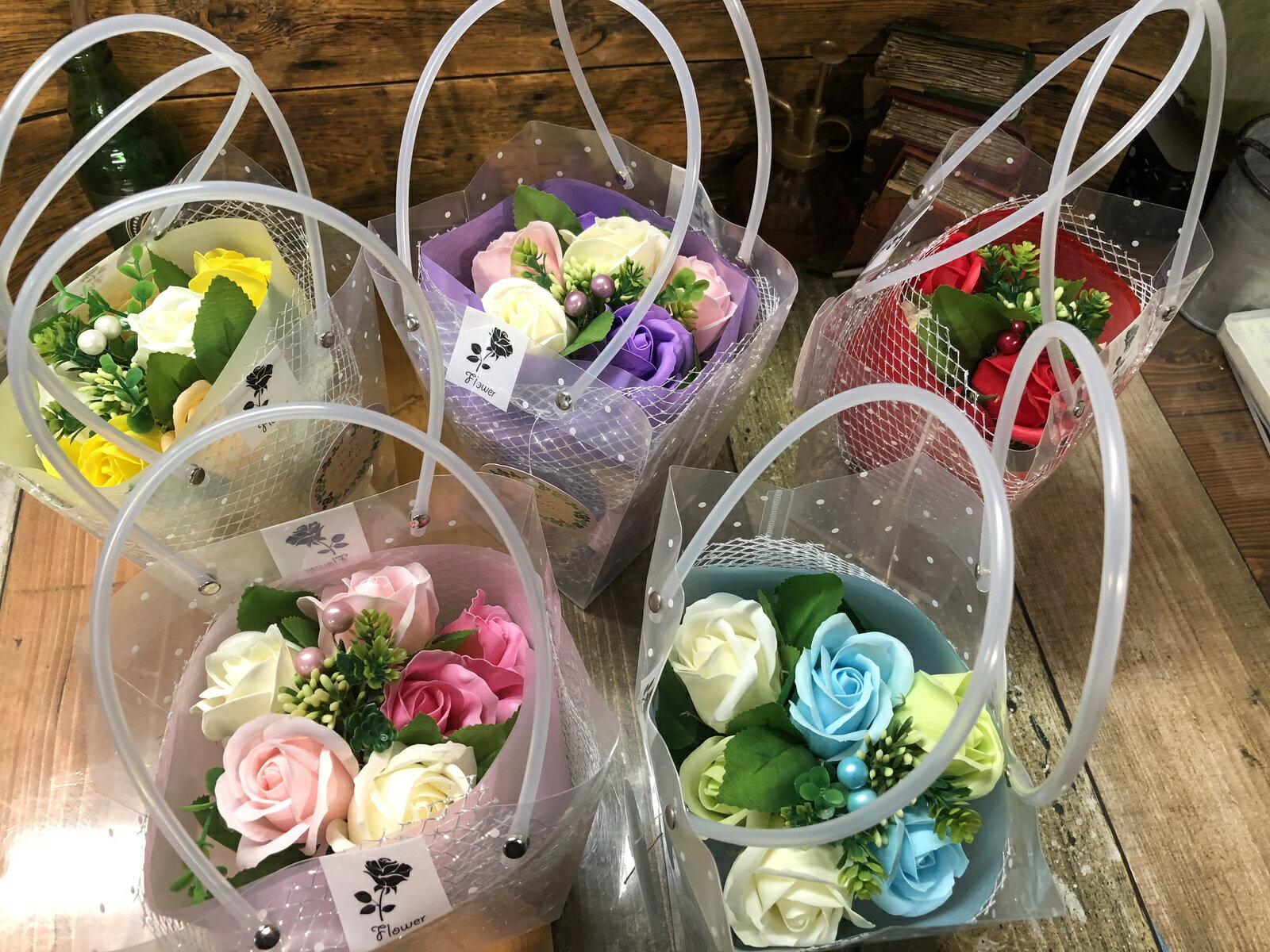 【クーポン】メタルブーケ5色 フレグランスフラワー 石鹸で出来たシャボンフラワー送料無料 石鹸 フラワーギフト 母の日 石鹸フラワー ミニブーケ 枯れない花 造花 かわいい 人気 オススメ