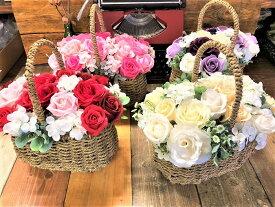 元気が出るお花を贈ろう!香水プレゼント【あす楽】石鹸で出来た シャボンフラワー クルワール【シャボンフラワー ソープフラワー クルワール フラワーソープ 石鹸フラワー 花 バラ 薔薇 アレンジメント 造花 枯れない花 花の贈り物 誕生日 ギフト プレゼント】