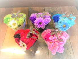 【クーポン】アレンジフラワーpot  母の日 石鹸フラワーギフト シャボンフラワー 石鹸フラワー ミニブーケ 枯れない花 造花 かわいい 人気 オススメ