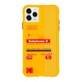 Case-Mate×Kodak iPhone 11 Pro Max Case Kodak Vintage Kodachrome II Print