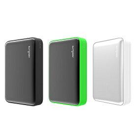 ABSOLUTE Fast Charge mini 10000mAh USB PD、QC3.0対応カードサイズモバイルバッテリー