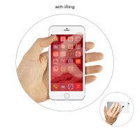 【送料無料(メール便)】iRingHook(アイリングフック)iPhone・スマホ落下防止リング(スマホスタンド、車載ホルダー)