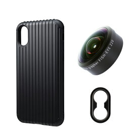 tokyo grapher Rib Case Package for iPhone XS/X(ブラック)FISH-EYE 220