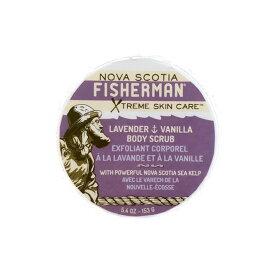 【NOVA SCOTIA FISHERMAN】Salt-N-Sea Body Scrub - Lavender & Vanilla ノバスコシア フィッシャーマン ボディスクラブ [153g][ソルト&シー]