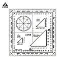 【ZERO】Military Protractor ゼロ ミリタリー プロトラクター [ネコポス可]