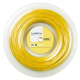 LUXILON 4G ROUGH 125 Reel/4Gラフ125 リール(200M)【LUXILON硬式テニス ロールガット】WRZ990144