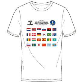 ☆ネコポス対応☆【限定商品】ナショナルフラッグTシャツ 300ACTHMNZ-001【hummel】ヒュンメル ハンドボールウェア