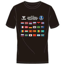 ☆ネコポス対応☆【限定商品】ナショナルフラッグTシャツ 300ACTHMNZ-005【hummel】ヒュンメル ハンドボールウェア