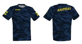 <限定>☆ネコポスなら送料無料!☆ハンドボール 昇華Tシャツ HAZ102E-FLIGHT1 【hummel】ヒュンメル ハンドボール プラクティスウェア HJZ102