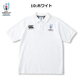 【再入荷】CANTERBURY VWD39103(ポロシャツ)【CANTERBURYラグビーウェア】RWC2019 S/S RUGGER POLO「ラグビーワールドカップ2019(TM)日本大会」カンタベリーオフィシャルライセンス商品