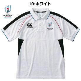 ※CANTERBURY VWD39112(ポロシャツ)【CANTERBURYラグビーウェア】RWC2019 WINGER PORO「ラグビーワールドカップ2019(TM)日本大会」カンタベリーオフィシャルライセンス商品