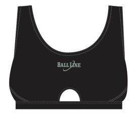 ☆バスケット専用☆ スポブラ BLU3101-BLK 【BALL LINE】ボールライン (オンザコート) バスケットウェア