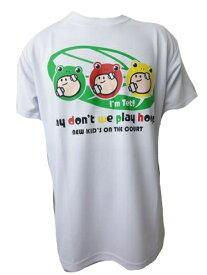 ※☆SALE!ネコポス対応☆ BASIC T-SHIRTS (半袖Tシャツ) NKO170-WHTBOS 【BALL LINE】ボールライン (オンザコート) バスケットウェア