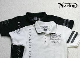 Norton(ノートン)半袖 刺繍 SPARK POLO ポロシャツ 32N1902