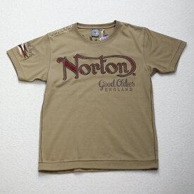 Norton(ノートン) 半袖 刺繍 ウエスタンロード Tシャツ 32N1015