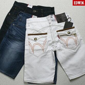 范德萨 (Edwin) XV zip 皮瓣短裤牛仔牛仔裤短裤短裤 (3 色) 男装 KS0024