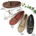 【SALE品交換・返品不可】ミネトンカ MINNETONKA モカシン< Smooth Leather Moccasin / SMOOTH LEATHER MO...