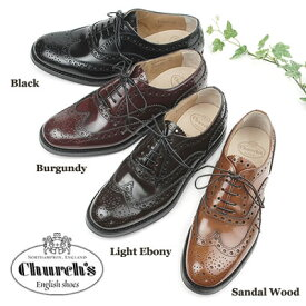 Church's チャーチ レディース レザーシューズBURWOOD W G POLISHED BINDER 8705 (DE0001)〔SK〕