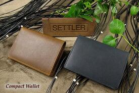 セトラー 2つ折り財布 SETTLER CompactWallet OW-1565ホワイトハウスコックスのデフュージョンブランド〔FL〕