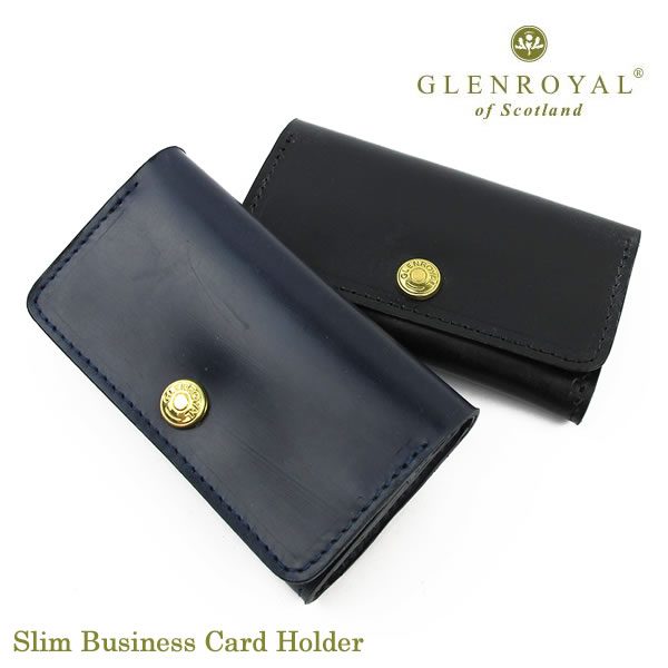 GlenRoyal 名刺入れ Slim Business Card Holder 03-6131 グレンロイヤル〔FL〕