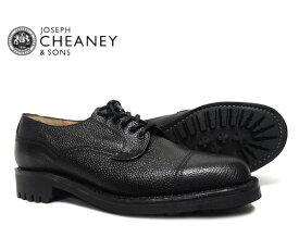 【コロニル/シューツリープレゼント♪】JOSEPH CHEANEY ジョセフ チーニー CAIRNGORM ケンゴン BLACK GRAIN 5793/66 プレーントゥ シューズ ブラック ジボ革 *メンズ〔FL〕【あす楽】【collonil-shoetree】
