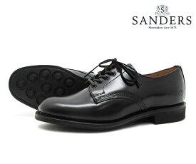 【お手入れ用山羊毛ブラシプレゼント中♪】SANDERS サンダース Female Plain Toe Shoe レディース プレーン トゥ シュー 1522B ブラック ビジネス シューズ BLACK 〔FL〕【あす楽】【楽ギフ_包装】