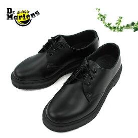【shoes15】【期間限定!15%OFFクーポン発行中】ドクターマーチン 3ホール シューズDr.Martens 1461 MONOスムースレザー レディース メンズ ユニセックス〔SK〕