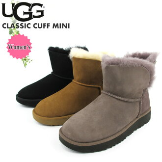 A goes wrong; Dis mouton boots mini-length ankle length women classical music caph mini-#1016417 UGG AUSTRALIA W CLASSIC CUFF MINI [SK]