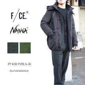 【S】F/CE.×NANGA FT N3B TYPE A JK F1802NA0022エフシーイー ナンガ ダウン ユニセックス メンズ レディース〔SK〕