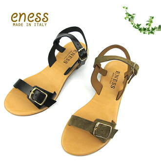98895 ENESS energy leather flat sandals [SK]