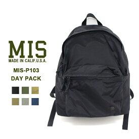 fed2211ce844 MIS(エムアイエス) MIS-P103 DAY PACKバックパック リュック ユニセックス 機能