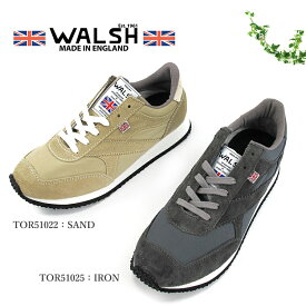 WALSH ウォルッシュ ユニセックススニーカー TORNADO HALLEY STEAVENSONS #TOR51022 #TOR51025〔SK〕【楽ギフ_包装】【あす楽対応】