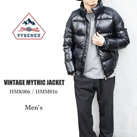 PYRENEX ピレネックス メンズ ミシックジャケット MYTHIC VINTAGE JACKET Men's HMK006/HMM016 〔SF〕【楽ギフ_包装】【あす楽対応※宅配便のみ】