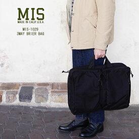 エムアイエス 2019秋冬 ブラック ブリーフバッグ MIS-1029 〔SK〕