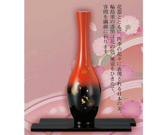 Wajima lacquer vase fuuka