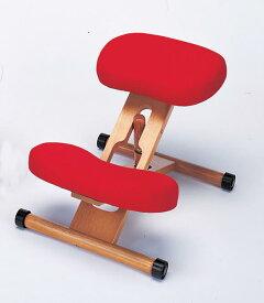 【あす楽対応】プロポーションチェア 本体<赤> 姿勢がよくなる椅子